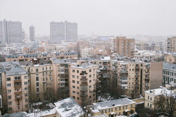 Дом-трилистник смотрится как комплекс из выступающих корпусов. /Фото:the-village.ru