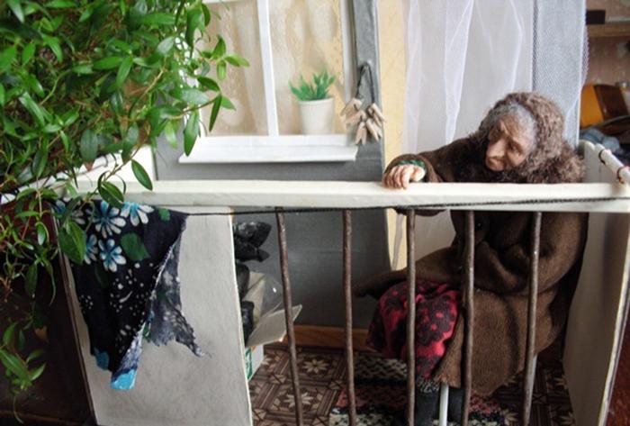 Каждая работа Ирины заставляет задуматься. /Фото:vesiskitim.ru