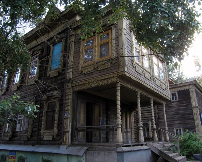 Невероятно красивый деревянный дом Семёновой. /constantiner.livejournal.com
