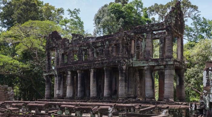 Всё, что осталось от древней цивилизации. /Фото: Диего Дельса