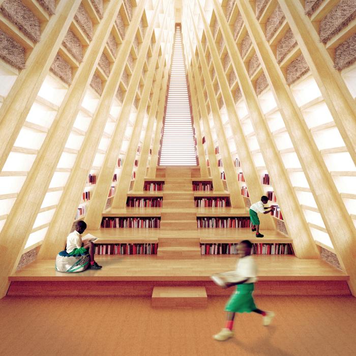 В школе будут и компьютерные классы, и библиотека.