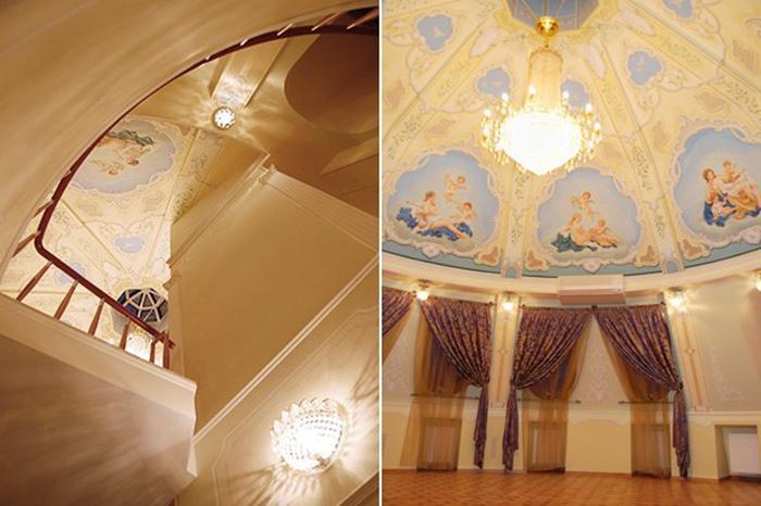 Внутренняя часть дома. /Фото:the-village.ru