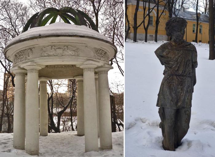 Кое-что из былого великолепия сохранилось до сих пор. /Фото:moya-moskva.livejournal.com