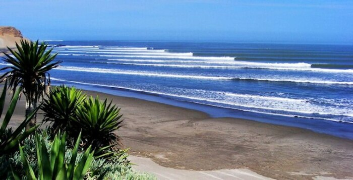 Красоты перуанского пляжа. /Фото:cattur.ru