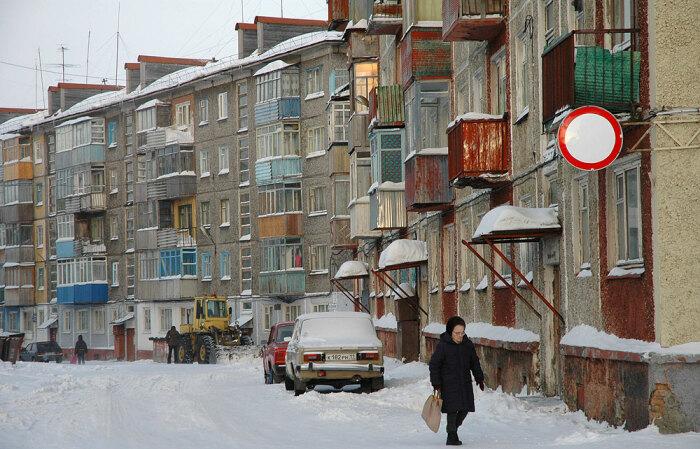 Типичный жилой квартал города. Так он выглядел лет 10-15 назад. /Фото: Антон Оболенский