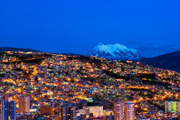 Панорама Ла-Паса. /Фото: tonkosti.ru