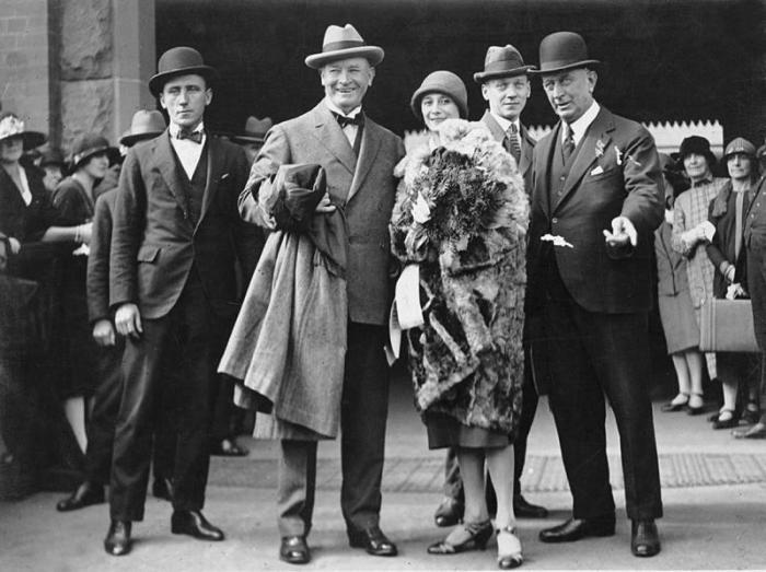 Балерина Анна Павлова с мужем Виктором по прибытии в Сидней. 1926 г. /Фото:litres.ru