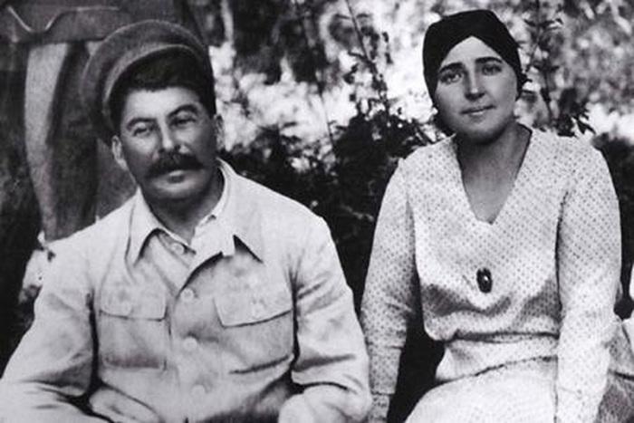 Сталин и Аллилуева. /Фото:cont.ws