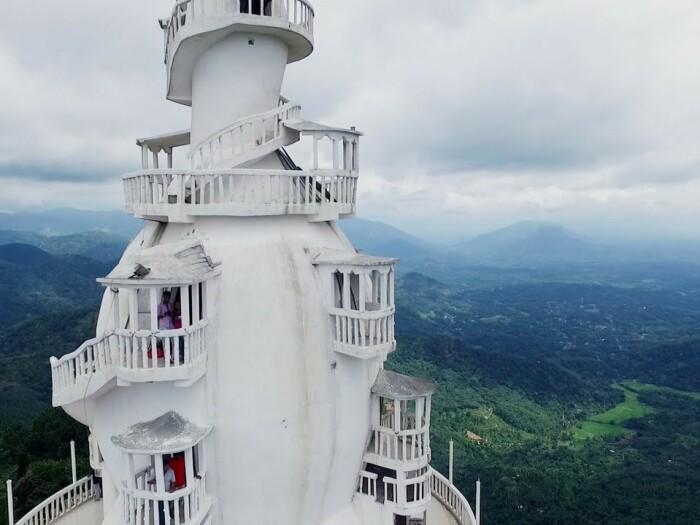 Фрагмент башни. /Фото:srilankafinder.com