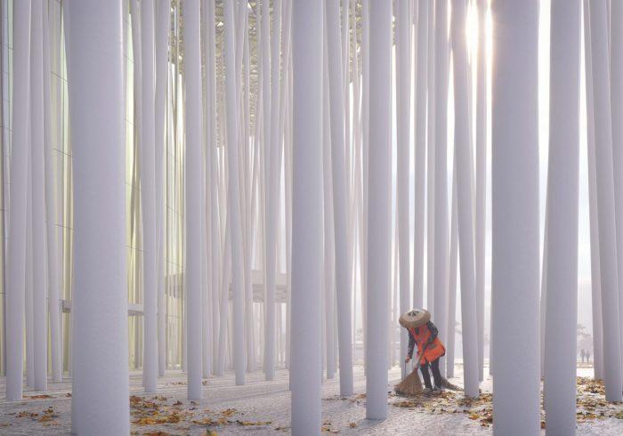 На самом деле колонны очень широкие. /Фото:sca.design