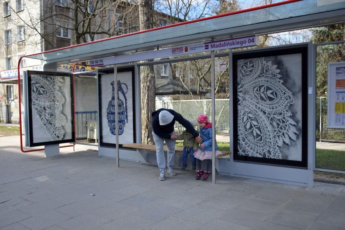 Автобусная остановка в понимании Ne Spoon. /Фото:behance.ne