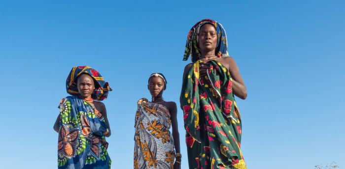 Женщина племени мукубал. /Фото: Виктория Роготнева
