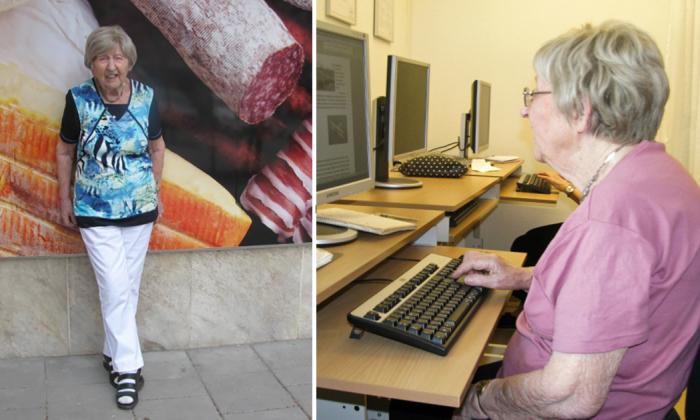 Дагни освоила компьютеры в 99 лет и теперь пишет о том, что близко каждому.