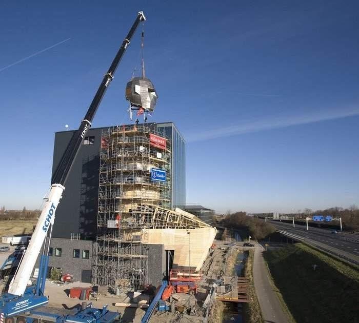 Так строился музей The Corpus. /Фото:fiestino.ru