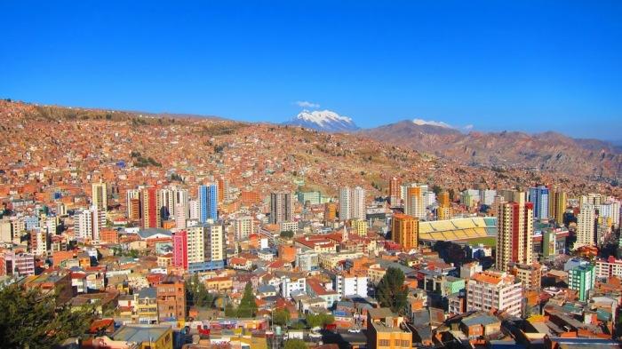 Эль-Альто превзошел своего соседа, город Ла-Пас