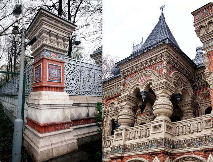 Дом похож на сказочный дворец-терем. А создавали его лучшие мастера. /Фото:bezphoto.net