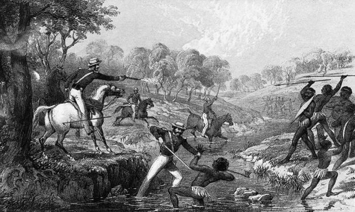 Вражда между коренным населением и европейцами была выгодна властям. /Фото:commentarii.ru