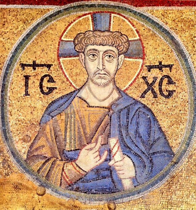 На этой фреске Иисус Христос изображен в повседневном одеянии. /Фото:pravlife.org
