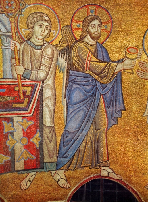 Фрагмент знаменитой мозаики. /Фото:pravlife.org