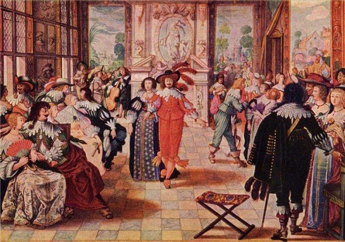 Абрахам Боссе. Бал. 1635 г.