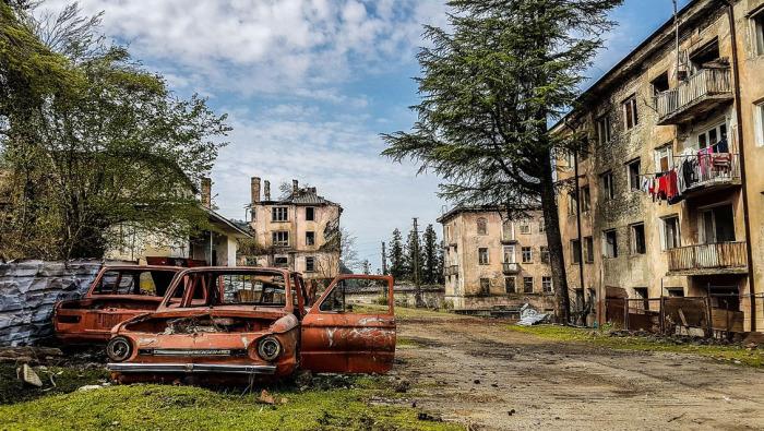 Поселок, который оставили жители. /Фото:rasfokus.ru