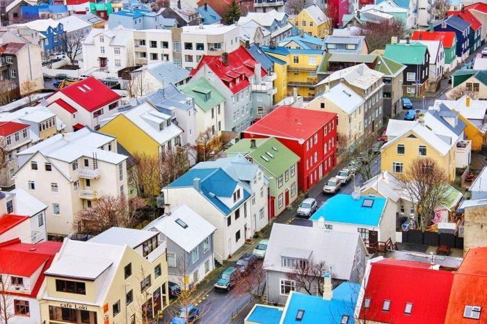 Даже не верится, что когда-то здешние дома были чёрными. Фото/ pinimg.com