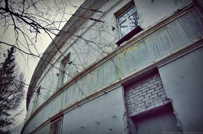 Здание снаружи. Съемка 2013 года. /Фото:samaralife.files.wordpress.com