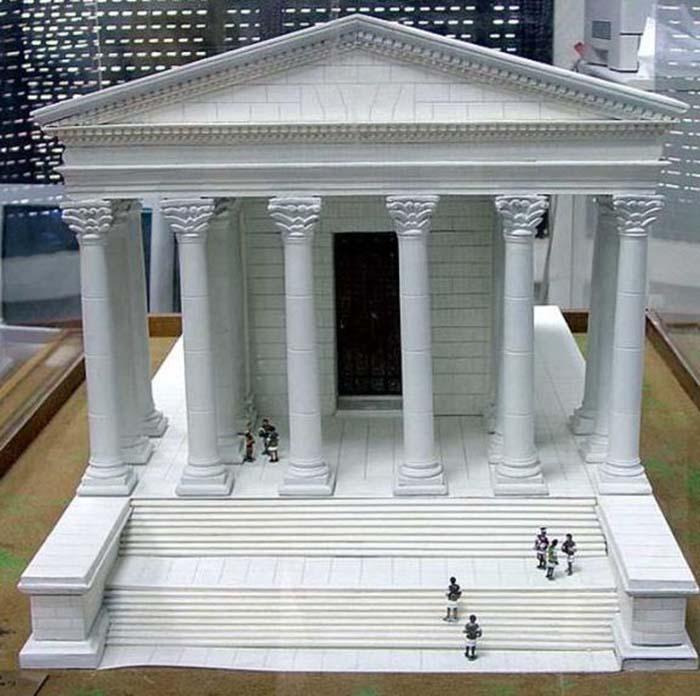 Примерно так выглядел храм Геркулеса. /Фото:jborder.ru