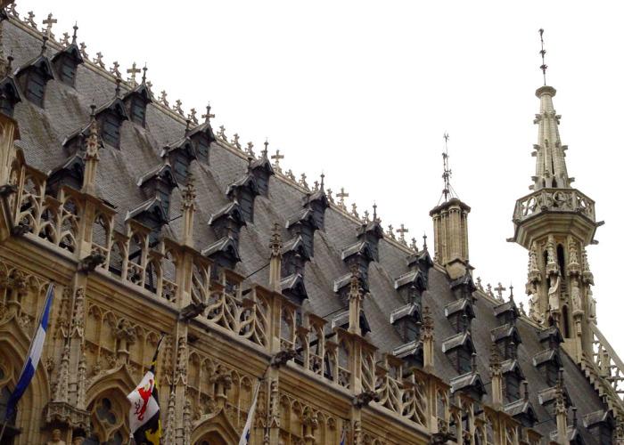 Шедевр архитектуры Средневековья. /Фото:belgiumview.com