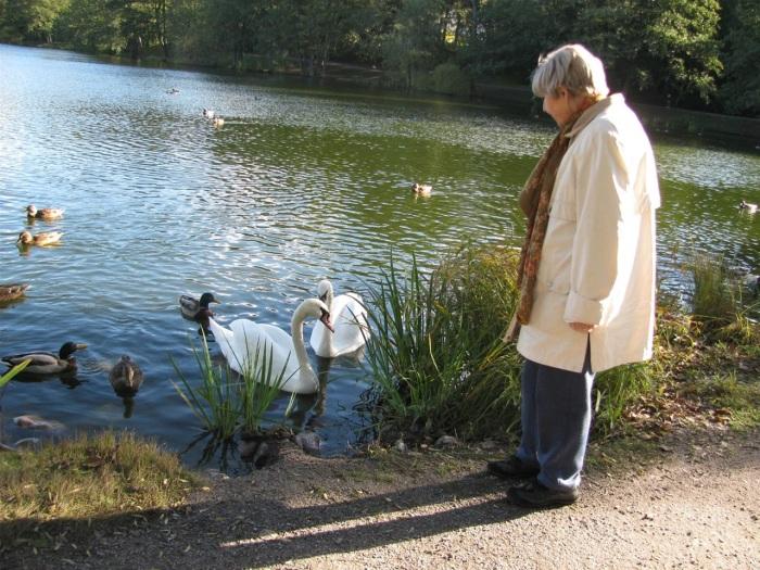 Бабушка-блогер очень любит природу. /Фото: из личного блога Боян