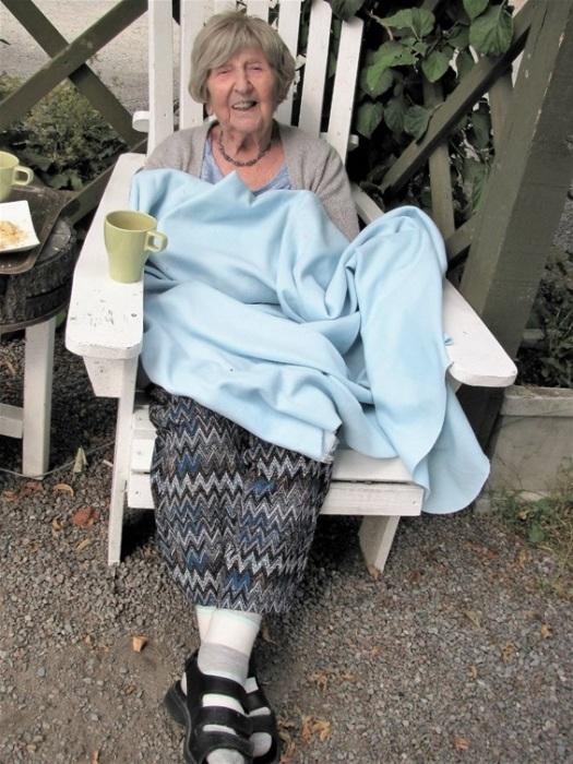 Дагни Карлсон в мае исполнится 108 лет.