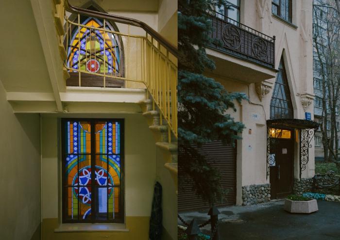 Подъезды дома очень красивы снаружи и внутри. /Фото: the-village.ru, А.Марченкова