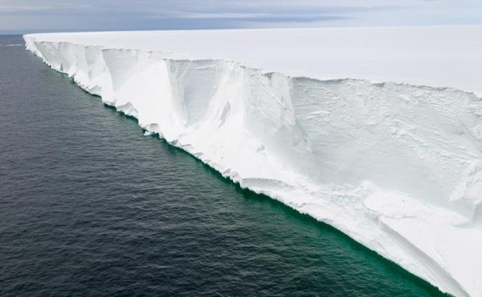 Ледник Росса, финишная точка поединка. /Фото:aplanetruth.info