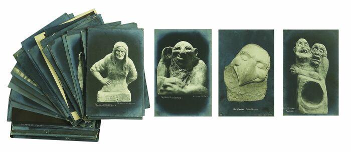Даже на пенсии он продолжал создавать скульптуры. /Фото:auction-imperia.ru