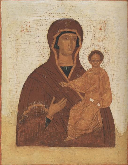 Икона Богоматерь Одигирия.