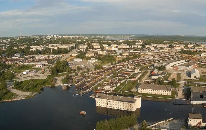 Город, который постепенно проваливается сквозь землю. /Фото:stormnews.ru