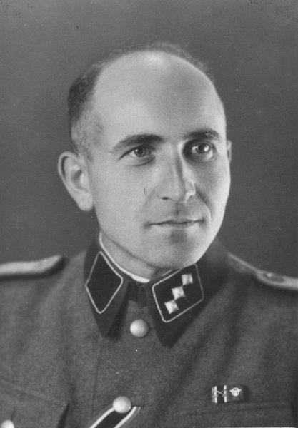 Фото офицера СС Максимилиана Грабнера. После войны суд установил, что на его счету было не мене 25 тыс. жизней./Фото: AP