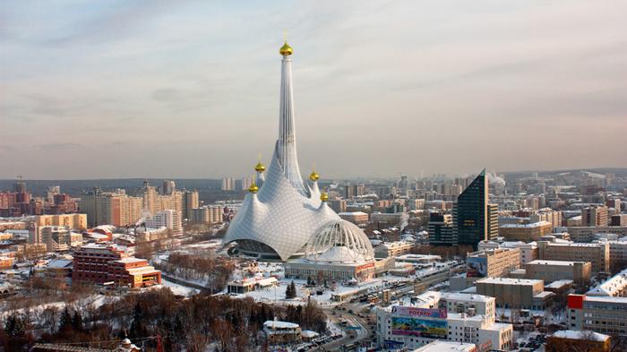 Проект храма для Екатеринбурга. Он был бы самым высоким в мире. /ngzt.ru