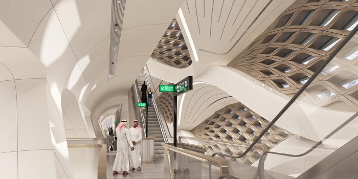 Визуализация будущей станции. /Фото: zaha-hadid.com, RDA