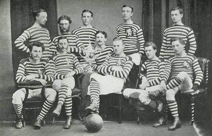 1873 год, Шотландская команда «Квинс Парк»