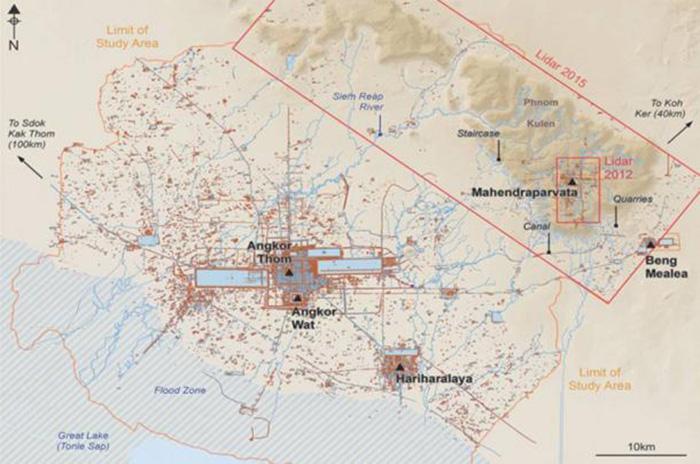 Махендрапарвата, столица Кхмерской империи. /Фото:most-interestingthings.com