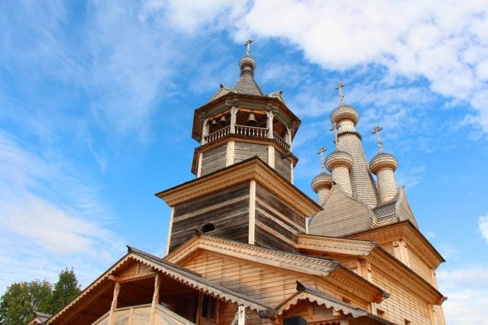 Шедевр деревянного зодчества. /Фото: golubino.org