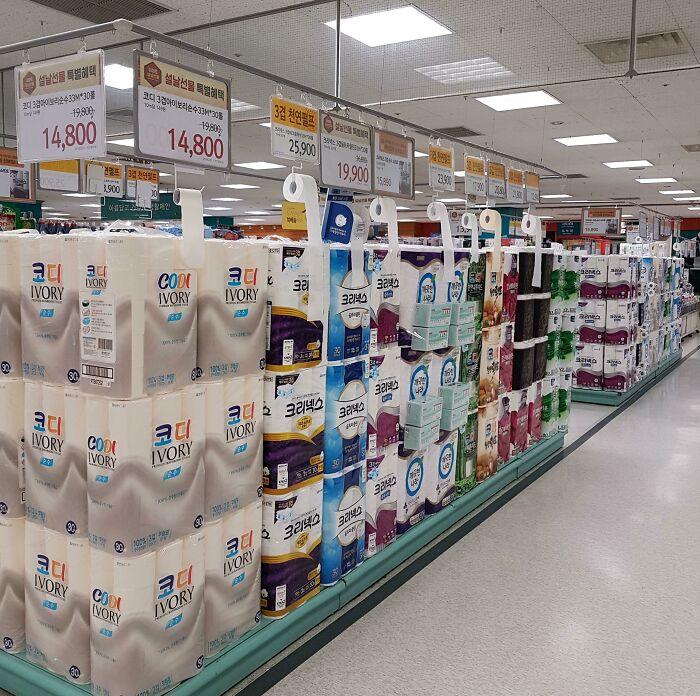 тестеры бывают даже при продаже туалетной бумаги. /Фото: @ash286, old.reddit.com