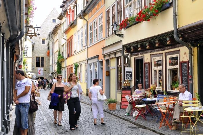 Мост-улочка. /Фото:erfurt-tourismus.de
