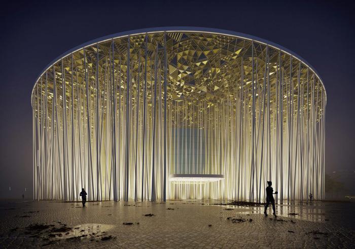 Театр ночью. /Фото:sca.design