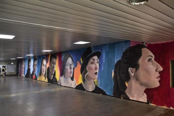 Галерея под землёй. /Фото:паблик «Проекта М» в соцсети