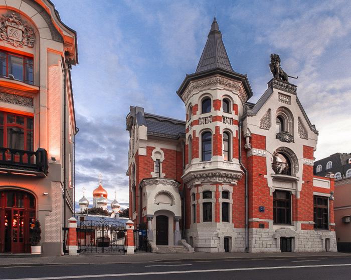 Здание после реставрации. / Фото:moscultura.ru