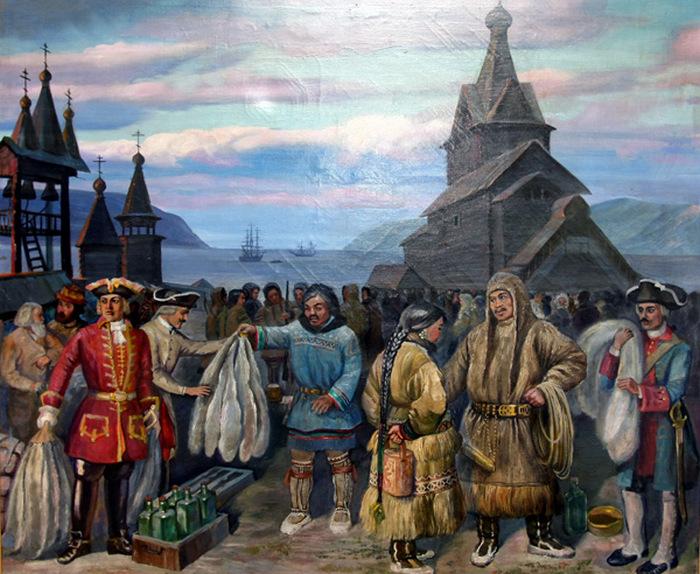 О процветающей Мангазее, богатой пушниной, слагали легенды. /Фото:salik.biz