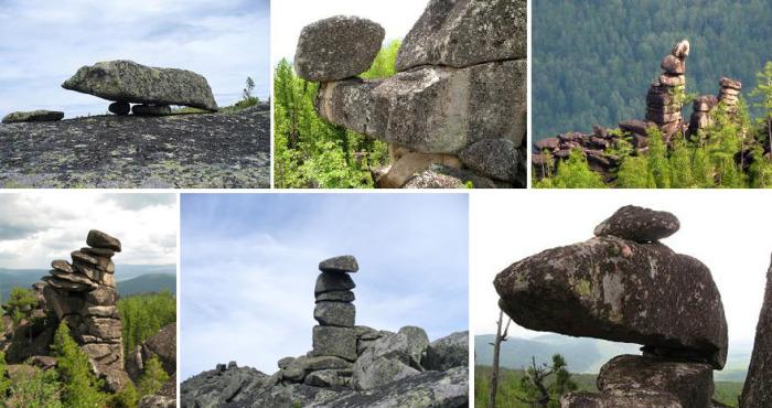 Кутурчинские каменные объекты напоминают ритуальные сооружения.