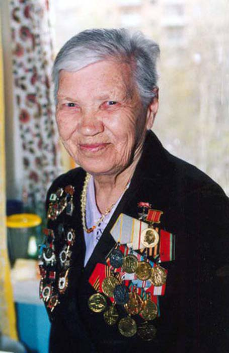 Александра Митрофановна после войны. /Фото: topwar.ru
